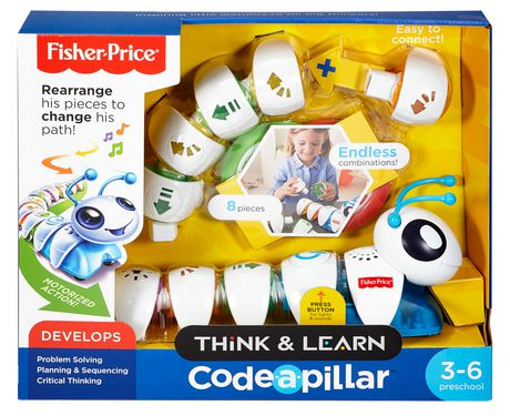 Fisher-Price Think & Learn Code-a-pillar Learning Toy ...