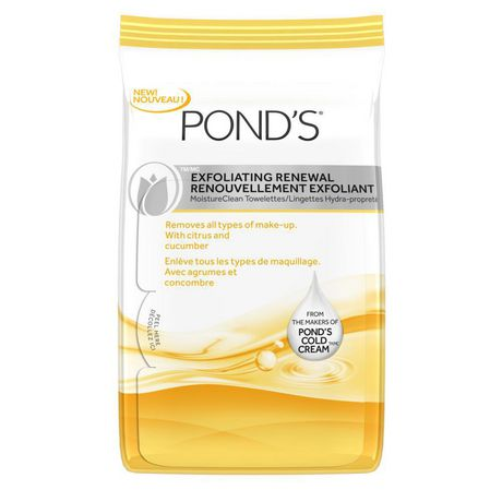 Ponds Moisture Clean Towelettes Exfoliating Renewal 28 ct GlyDerm Face Lotion Lite Plus 10 (4oz)
