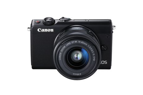 Canon EOS M100 Mirrorless Camera with 15-45mm IS STEM Lens Kit - image 1 of 9