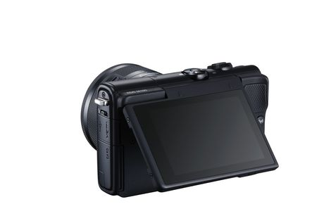 Canon EOS M100 Mirrorless Camera with 15-45mm IS STEM Lens Kit - image 8 of 9