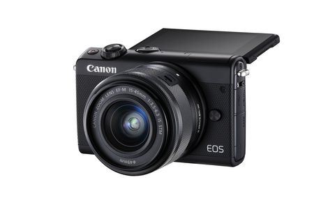 Canon EOS M100 Mirrorless Camera with 15-45mm IS STEM Lens Kit - image 3 of 9