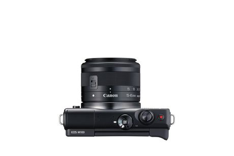 Canon EOS M100 Mirrorless Camera with 15-45mm IS STEM Lens Kit - image 4 of 9