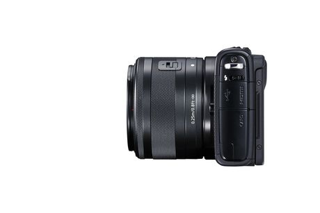Canon EOS M100 Mirrorless Camera with 15-45mm IS STEM Lens Kit - image 5 of 9