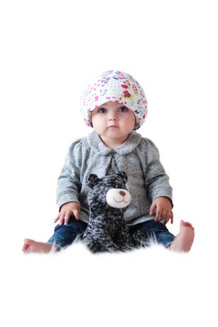 d6b91aa21 HUSH Baby Sound Absorbing Hat
