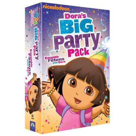 Dora The Explorer Doras Big Party Pack Walmart Canada