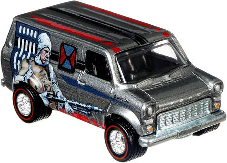 Hot Wheels Star Wars Dengar Ford Transit Supervan Vehicle Walmart