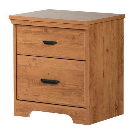 Versa Table de chevet 2 tiroirs , de Meubles South Shore - image 1 de 5