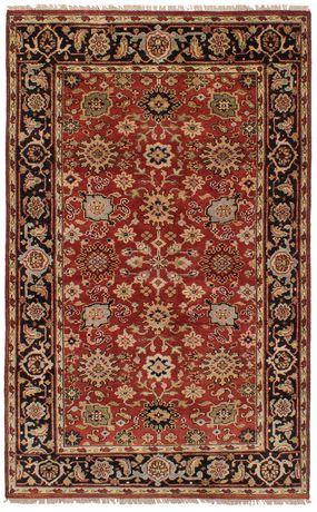 eCarpetGallery Hand Knot Serapi Heritage Copper Wool Rug 5'0x8'0 - image 6 of 6