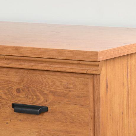 Versa Table de chevet 2 tiroirs , de Meubles South Shore - image 4 de 5