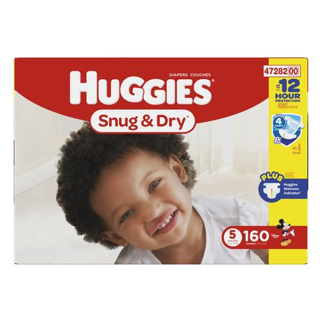 Huggies Snug & Dry Diapers, Economy Pack - image 1 of 2