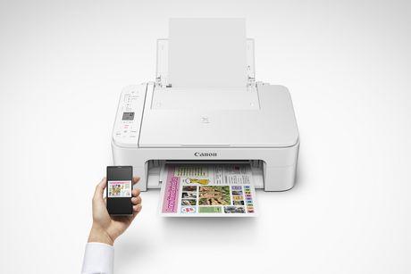 Canon Canada Inc Canon PIXMA TS3120 Wireless Color Photo Printer White