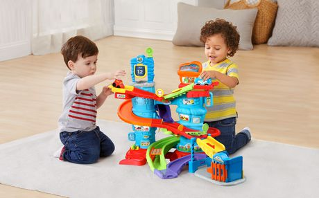 VTech® Go! Go! Smart Wheels® Launch & Chase Police Tower™ - English Version - image 3 of 9