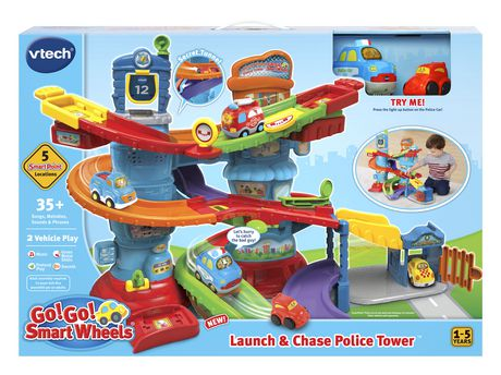 VTech® Go! Go! Smart Wheels® Launch & Chase Police Tower™ - English Version - image 4 of 9