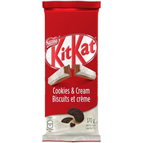 kit kat nestlÉ kitkat cookies cream tablet walmart canada
