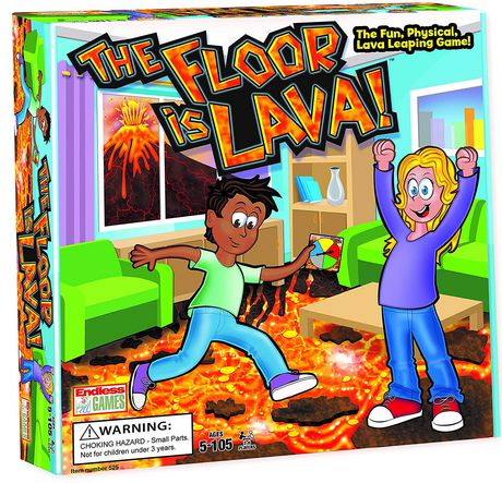 Endless Games The Floor is Lava Game - image 1 of 1