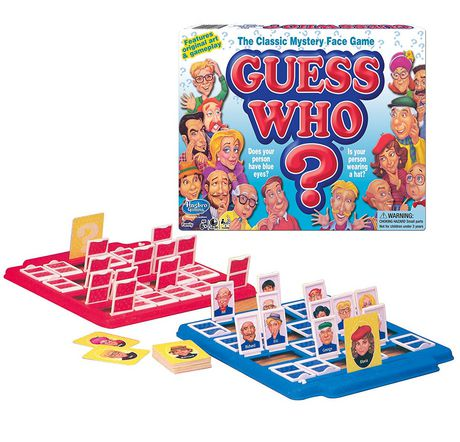 Winning Moves Games Guess Who? Game (english Only) - image 1 of 1