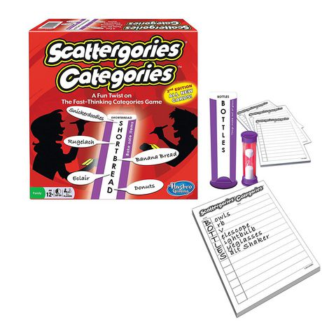 Winning Moves Games Scattergories Categories Game (english Only) - image 1 of 1