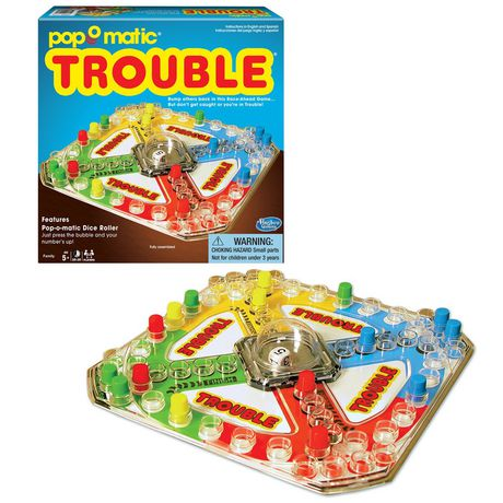 Winning Moves Games Classic Trouble Game (english Only) - image 1 of 1