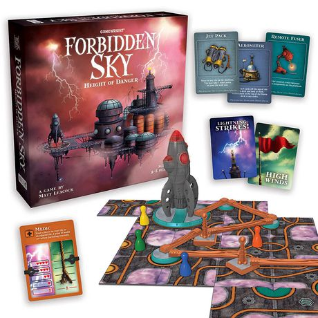 Gamewright Forbidden Sky Height of Danger Game (english Only) - image 1 of 1