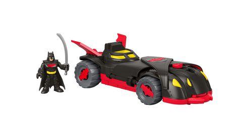 Imaginext DC Super Friend Ninja Armor Batmobile n Figure Christmas Birthday Gift