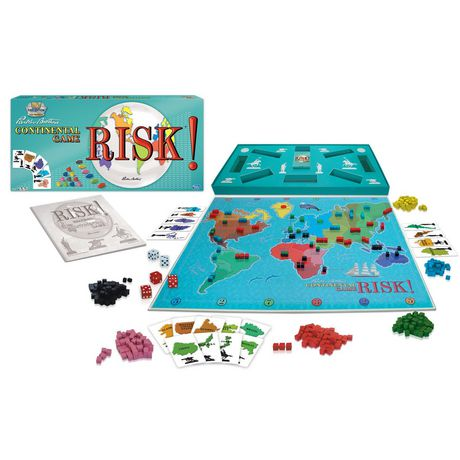 Winning Moves Games Risk 1959 Board Game (english Only) - image 1 of 1