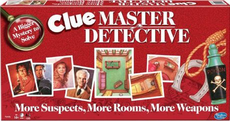 Winning Moves Games Clue Master Detective Game (english Only) - image 1 of 1