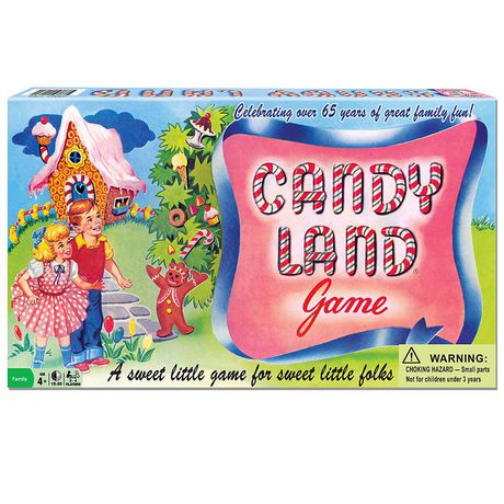 Winning Moves Games Candy Land Game (english Only) - image 1 of 1