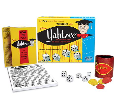 Winning Moves Games Classic Yahtzee - An Exciting Game of Skill And Chance (english Only) - image 1 of 1