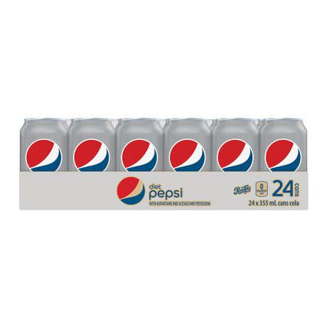 Diet Pepsi, 355mL Cans, 24 Pack - image 2 of 7