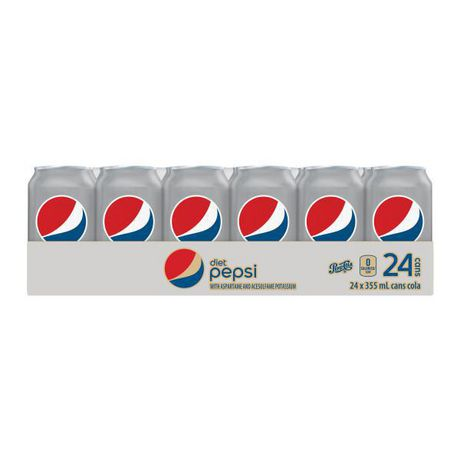 Diet Pepsi, 355mL Cans, 24 Pack - image 3 of 7