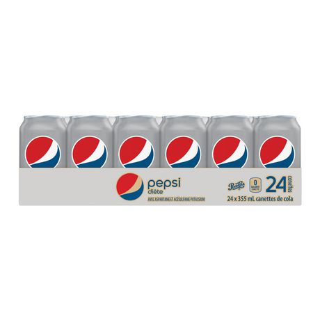 Diet Pepsi, 355mL Cans, 24 Pack - image 4 of 7