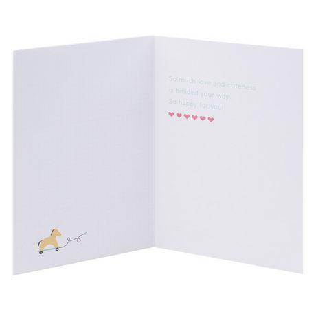 Carte de souhaits avec signature « Nouveau bébé » de Hallmark - image 3 de 6