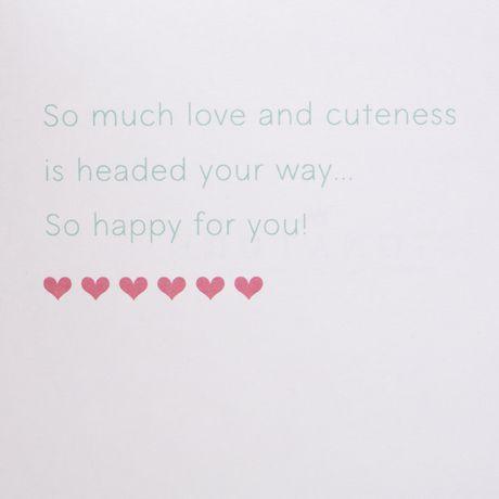 Carte de souhaits avec signature « Nouveau bébé » de Hallmark - image 4 de 6
