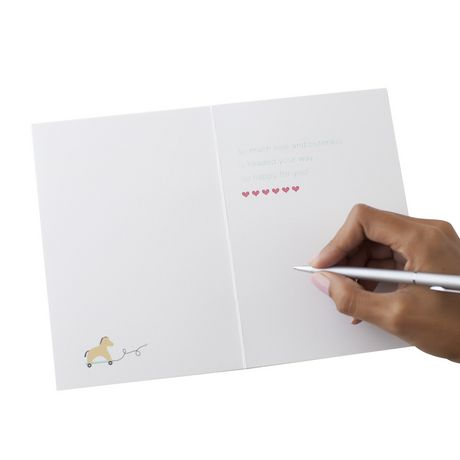 Carte de souhaits avec signature « Nouveau bébé » de Hallmark - image 6 de 6