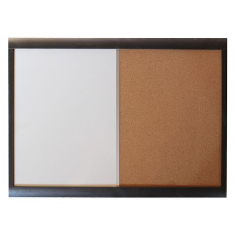 "Jelinek Cork Combo Dry-Erase / Cork Board, 18"" x 24"" framed ..."