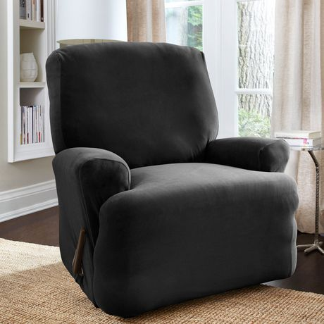 housse extensible pour fauteuil inclinable harlow de surefitmc walmart canada. Black Bedroom Furniture Sets. Home Design Ideas