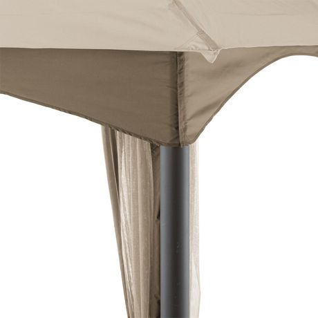 hometrends Tuscany 10 ft. x 12 ft. Fabric Top Gazebo - image 7 of 8