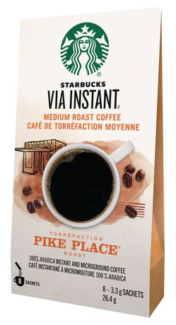 Starbucks® VIA InstantTM Pike Place® 8ct - image 2 of 3
