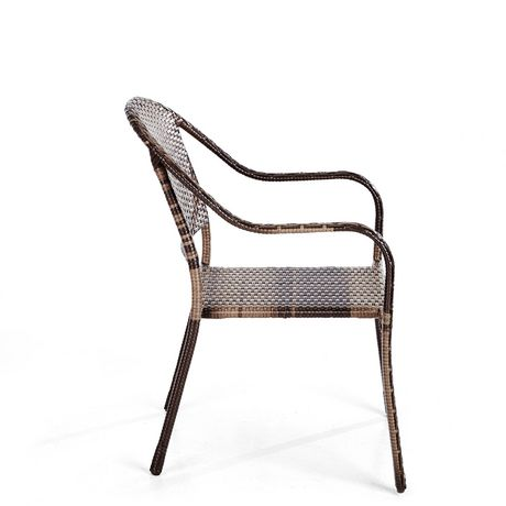hometrends Wicker Stacking Dining Chair - image 3 of 6