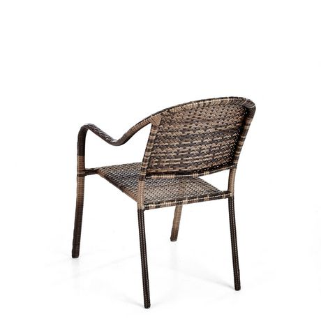 hometrends Wicker Stacking Dining Chair - image 4 of 6