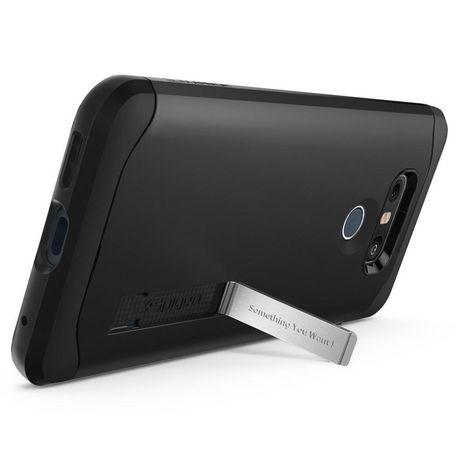 big sale 8c51e 02890 Spigen, Slim Armor Case for LG G6, Black | Walmart Canada