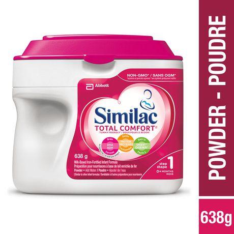 Similac Total Comfort Omega-3 & Omega-6 Baby Formula Powder, 638 g - image 1 of 9