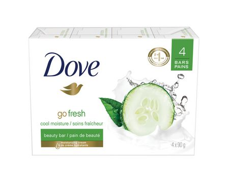 Dove® Go Fresh Cool Moisture Cucumber And Green Tea Scent Beauty bar - image 2 of 5