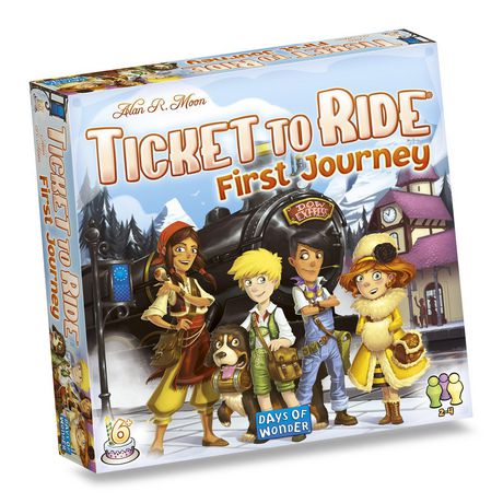 Ticket to Ride: First Journey (Europe) - image 1 of 2