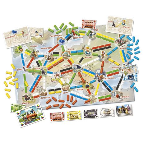 Ticket to Ride: First Journey (Europe) - image 2 of 2