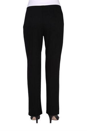 Alia Women's Ribbed Pull-On Straight Leg Pants - image 3 of 3