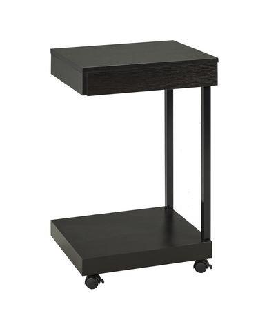 support pour ordinateur portable avec tiroir de brassex. Black Bedroom Furniture Sets. Home Design Ideas