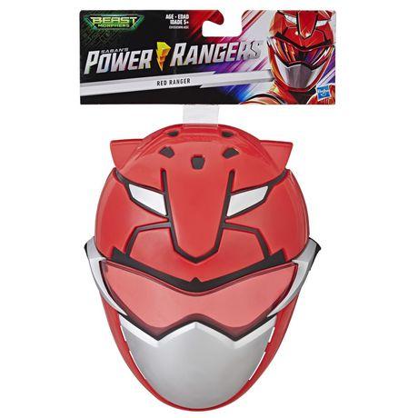 Power Rangers Beast Morphers Red Ranger Mask for Roleplay - image 1 of 6