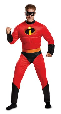 Disguise Mr. Incredible Classic Muscle Adult - image 1 of 1
