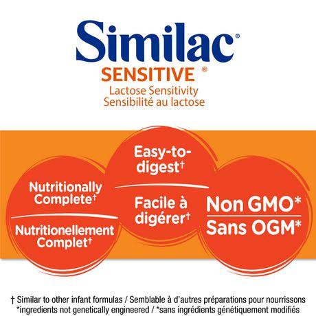 Similac Sensitive Lactose Sensitivity Liquid Baby Formula, 12 x 385 mL - image 3 of 9